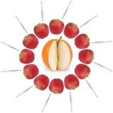 Γενετικά τροποποιημένα τρόφιμα Στοκ εικόνα με δικαίωμα ελεύθερης χρήσης