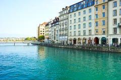 Γενεύη κεντρικός Στοκ εικόνες με δικαίωμα ελεύθερης χρήσης