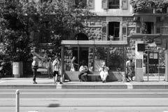 Γενεύη κεντρικός Στοκ φωτογραφία με δικαίωμα ελεύθερης χρήσης