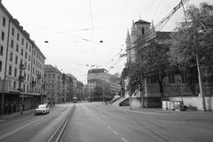 Γενεύη κεντρικός Στοκ φωτογραφίες με δικαίωμα ελεύθερης χρήσης