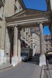 Γενεύη, οδός της παλαιάς πόλης Στοκ φωτογραφία με δικαίωμα ελεύθερης χρήσης