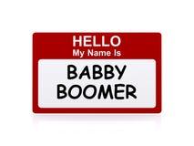 γενιά του baby boom Στοκ Εικόνα