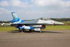 Γενικά αεροσκάφη πολεμικό τζετ γερακιών πάλης F-16 δυναμικής Στοκ Εικόνα