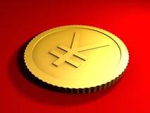 γενικά γεν νομισμάτων Στοκ Φωτογραφία