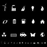 γενικά σύμβολα οικολο&gam Στοκ Εικόνα