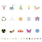 γενικά σύμβολα περιβάλλ&omic Στοκ Φωτογραφία