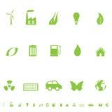 γενικά σύμβολα eco Στοκ φωτογραφία με δικαίωμα ελεύθερης χρήσης
