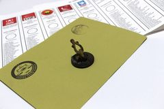 Γενικές εκλογές στην Τουρκία, 2015 Στοκ Φωτογραφία