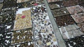 Γενική άποψη της αγοράς φυλακτών σε Tha Phra Chan, Μπανγκόκ φιλμ μικρού μήκους
