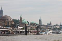 Γενική άποψη του Αμβούργο Στοκ φωτογραφία με δικαίωμα ελεύθερης χρήσης