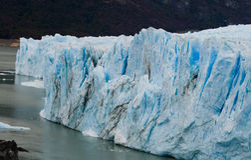 Γενική άποψη του Perito Moreno Glacier Αργεντινοί Τοπίο Στοκ φωτογραφίες με δικαίωμα ελεύθερης χρήσης