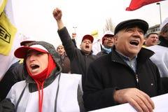 γενική απεργία Τουρκία Στοκ Φωτογραφίες