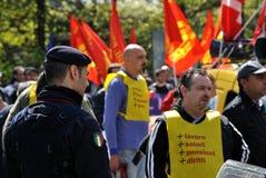 γενική απεργία Στοκ φωτογραφία με δικαίωμα ελεύθερης χρήσης