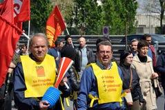 γενική απεργία Στοκ Εικόνες