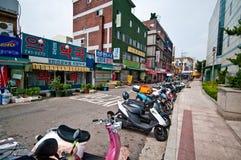 Γενική αρχιτεκτονική οδών της Σεούλ Νότια Κορέα Στοκ φωτογραφίες με δικαίωμα ελεύθερης χρήσης