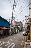 Γενική αρχιτεκτονική οδών της Σεούλ Νότια Κορέα Στοκ Εικόνες