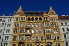 Γενική αρχιτεκτονική σε Linke Weinzeile Βιέννη αριθ. 56 Στοκ Φωτογραφία