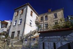Γενική αρχιτεκτονική της πόλης της Οχρίδας σε FYR Μακεδονία Στοκ Φωτογραφίες