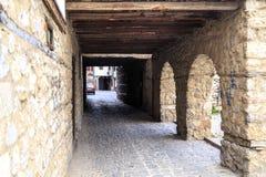 Γενική αρχιτεκτονική της πόλης της Οχρίδας σε FYR Μακεδονία Στοκ φωτογραφίες με δικαίωμα ελεύθερης χρήσης