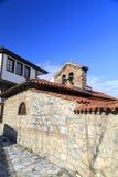 Γενική αρχιτεκτονική της πόλης της Οχρίδας σε FYR Μακεδονία Στοκ φωτογραφία με δικαίωμα ελεύθερης χρήσης