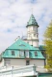 Γενική αρχιτεκτονική Jurmala, Λετονία επάνω Στοκ εικόνα με δικαίωμα ελεύθερης χρήσης