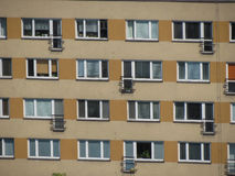 Γενική σοβιετική αρχιτεκτονική Στοκ Εικόνα