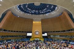 Γενική Συνέλευση Ηνωμένων Εθνών Στοκ Εικόνες
