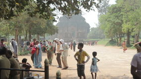 γενική της Ινδίας konark όψη ναών ήλιων σχεδίων δευτερεύουσα φιλμ μικρού μήκους