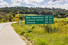 Γενικοί τομείς Βραζιλία στοκ εικόνα