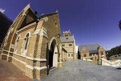 Γενικός καθεδρικός ναός Περθ, Αυστραλία του ST George ` s αεροπλάνων δυτικών Αυστραλιών Στοκ φωτογραφία με δικαίωμα ελεύθερης χρήσης