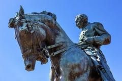 Γενικός κύκλος Washington DC της Sheridan αγαλμάτων Phil Sheridan Στοκ εικόνα με δικαίωμα ελεύθερης χρήσης
