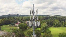 Γενικός πύργος τηλεπικοινωνιών απόθεμα βίντεο