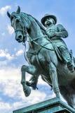 Γενικός του John Logan κύκλος Washington DC του Logan εμφύλιου πολέμου αναμνηστικός Στοκ φωτογραφίες με δικαίωμα ελεύθερης χρήσης