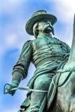 Γενικός του John Logan κύκλος Washington DC του Logan εμφύλιου πολέμου αναμνηστικός Στοκ εικόνες με δικαίωμα ελεύθερης χρήσης