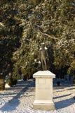 Γενικό άγαλμα Moultrie στο πάρκο μπαταριών, Τσάρλεστον, Sc Στοκ φωτογραφίες με δικαίωμα ελεύθερης χρήσης