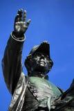 Γενικό άγαλμα της Dufour, Γενεύη, Ελβετία Στοκ Εικόνες