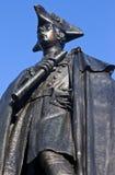 Γενικό άγαλμα του James Wolfe στο πάρκο του Γκρήνουιτς Στοκ Φωτογραφίες