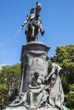 Γενικό άγαλμα του Louis Faidherbe στη Λίλλη Στοκ Εικόνα