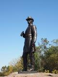 Γενικό άγαλμα του Warren σε Gettysburg Στοκ εικόνα με δικαίωμα ελεύθερης χρήσης