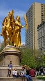 Γενικό άγαλμα Sherman στη Νέα Υόρκη Στοκ Εικόνες
