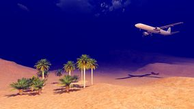 Γενικό αεροπλάνο Στοκ Εικόνες