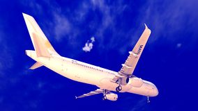 Γενικό αεροπλάνο Στοκ Εικόνα