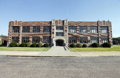 Γενικό κτήριο γυμνασίου στοκ εικόνα με δικαίωμα ελεύθερης χρήσης