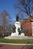 γενικό Λαφαγέτ σημαντικό άγαλμα μαρκησίων de Στοκ εικόνα με δικαίωμα ελεύθερης χρήσης