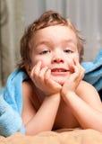 γενικό μπλε αγόρι λίγα κάτ&omeg Στοκ φωτογραφία με δικαίωμα ελεύθερης χρήσης