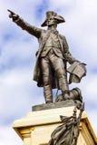 Γενικό πάρκο Washington DC του Λαφαγέτ αγαλμάτων Rochambeau Στοκ Εικόνα