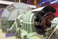 Γεννήτρια εγκαταστάσεων παραγωγής ενέργειας Στοκ φωτογραφία με δικαίωμα ελεύθερης χρήσης