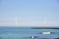 Γεννήτριες αιολικής ενέργειας Στοκ Φωτογραφία