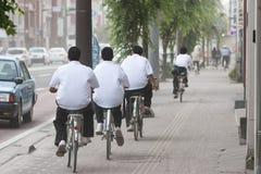 γενναία έκρηξη ποδηλατών τέφ Στοκ Εικόνα
