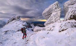 γενναία βουνά ατόμων Στοκ εικόνα με δικαίωμα ελεύθερης χρήσης